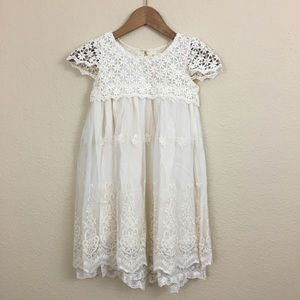 NWT Flower Girl Lace Dress